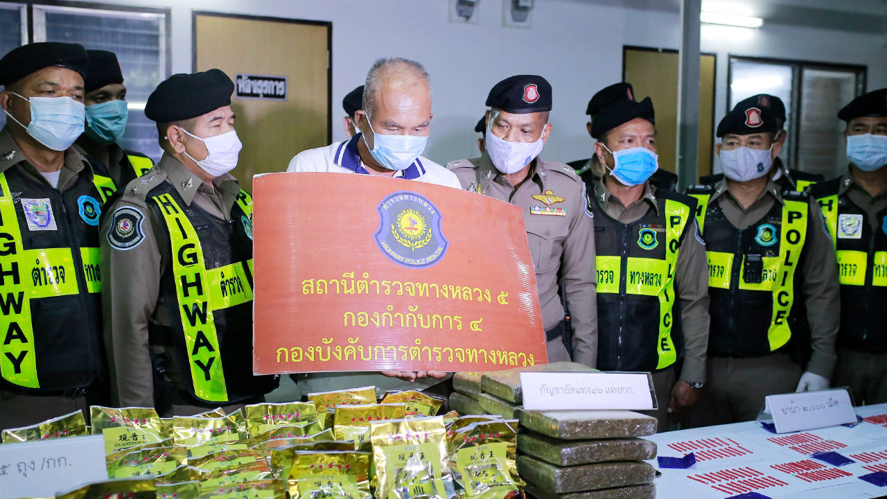 Man arrested for allegedly trafficking 112 million baht worth of drugs | Thaiger