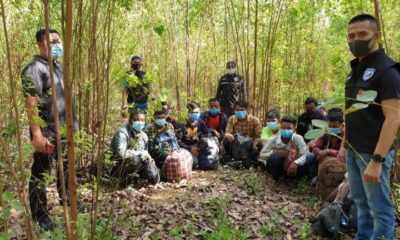23 Cambodians found in Thai forest after allegedly crossing the border | The Thaiger