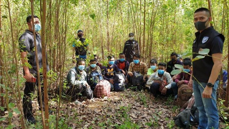 23 Cambodians found in Thai forest after allegedly crossing the border | Thaiger