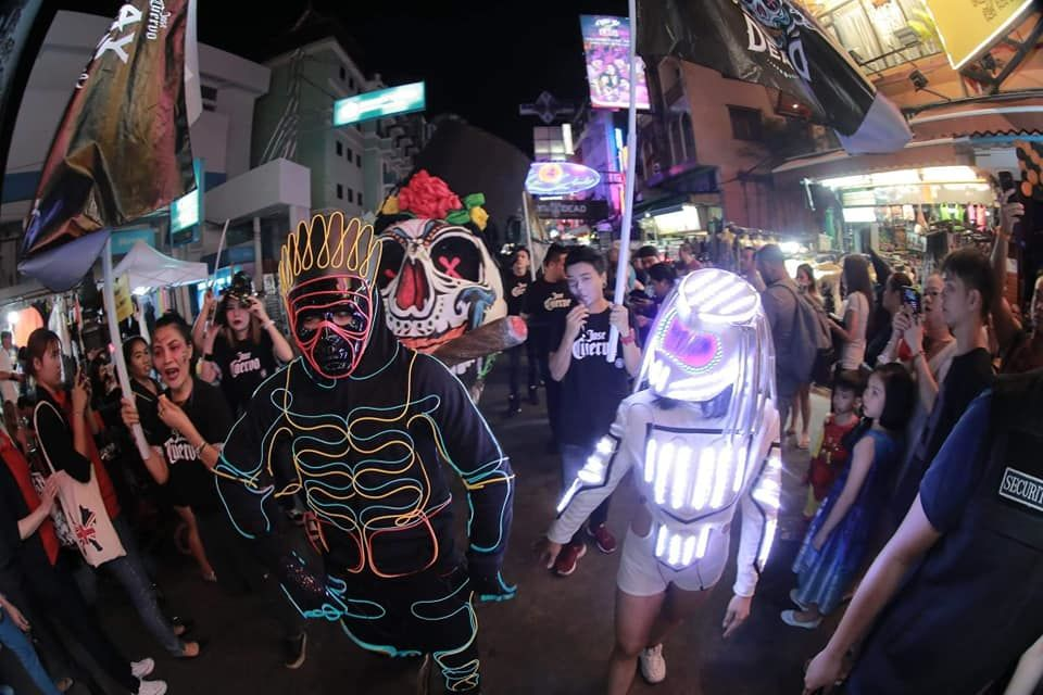 Khao San Road to reopen for Halloween   Thaiger