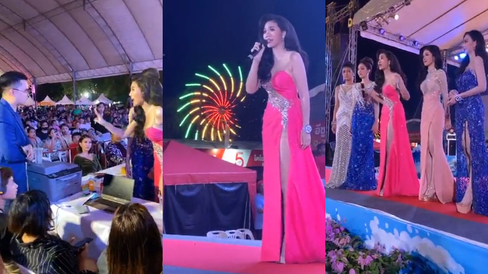 Songkhla pageant ends in shambles, contestant accuses judges of fixing scores   Thaiger