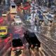 Police ordered to keep traffic moving after heavy flooding during Bangkok's peak | The Thaiger
