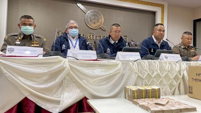 Police arrest 7 for alleged face mask scam | Thaiger