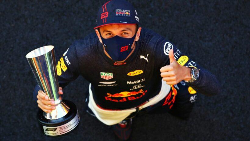 Thai Alex Albon scores podium finish in Tuscan Formula One GP | Thaiger