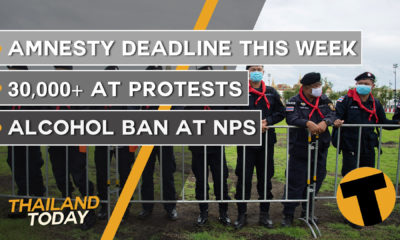 Thailand News Today | Amnesty finishes, protest round-up | September 21, 2020 | Thaiger