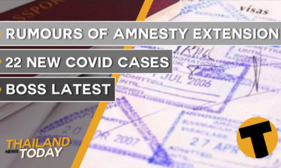 Thailand News Today | Rumours of amnesty extension, 22 new Covid cases | September 28 | Thaiger
