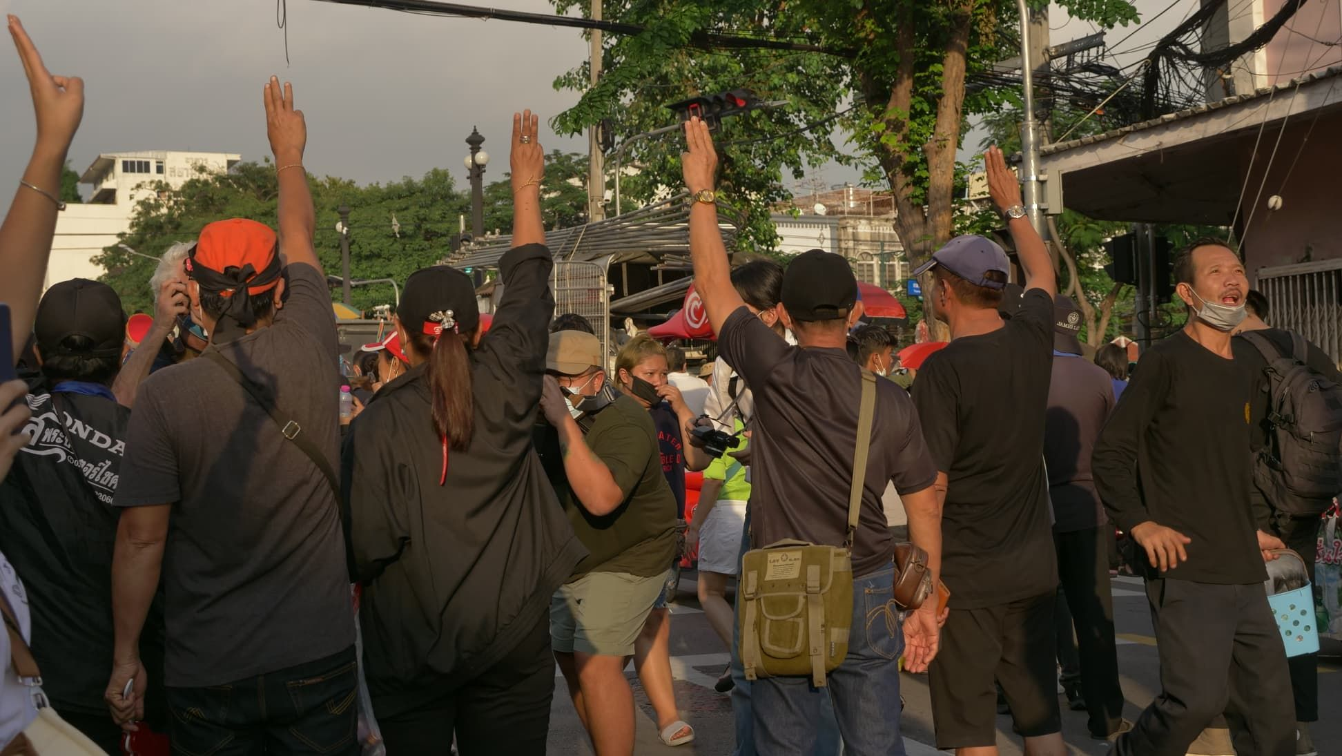 Protest planned at Bangkok's Rathchaprasong intersection, despite State of Emergency | Thaiger