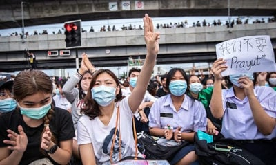 Thai police accuse anonymous social media users of inciting looting during protests | The Thaiger