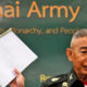 Retiring army chief failed to fulfil promises of military reform after Korat mass shooting, critic says | The Thaiger