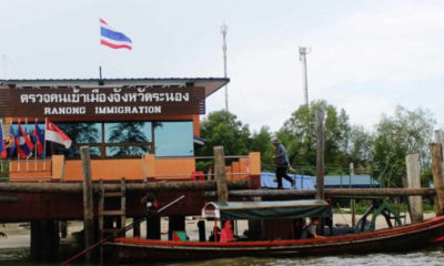 Officials threaten Ranong pier with closure over Covid violations | The Thaiger