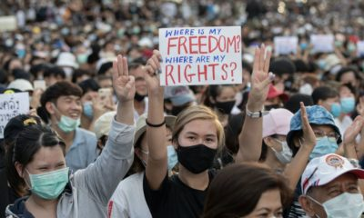 So who are these Thai students, and what are the protests about? | The Thaiger