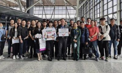 Chinese travellers CAN depart China and travel to Thailand on the STV | The Thaiger