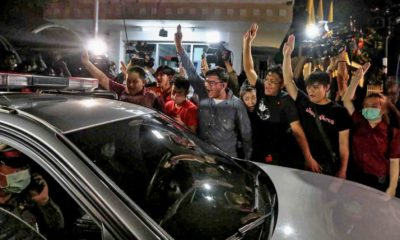 Four released, three re-arrested, drama outside the Bangkok Remand Prison | Thaiger