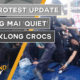 Thailand News Today | BKK protest update, Chiang Mai 'quiet', Baby klong crocs | October 14 | The Thaiger