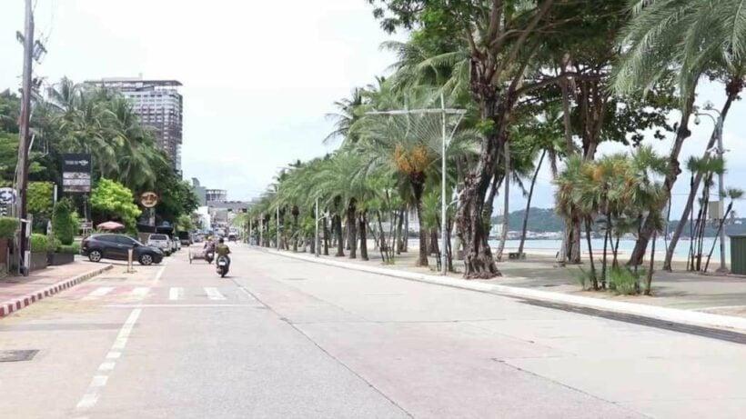 Pattaya's Beach Road to add an extra lane, part of multi-million baht renovation plan | Thaiger