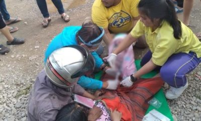 Mathayom student helps deliver baby on Mae Sot street | Thaiger