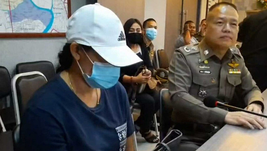 Anger as CCTV shows accused Sarasas teacher undressing female student in front of male teacher | Thaiger