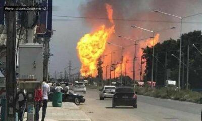 1 killed, 20 injured in gas pipe explosion in Samut Prakan   Thaiger