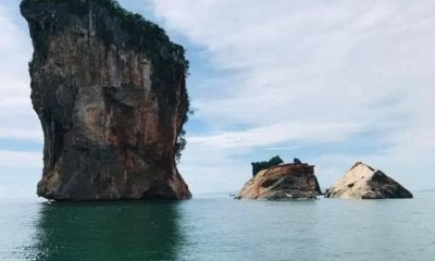 Koh Phi Phi marine park dive site closed off for the next 2 years after karst island collapse | Thaiger