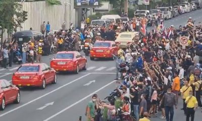 One more person faces possible life sentence for alleged acts during royal motorcade | Thaiger