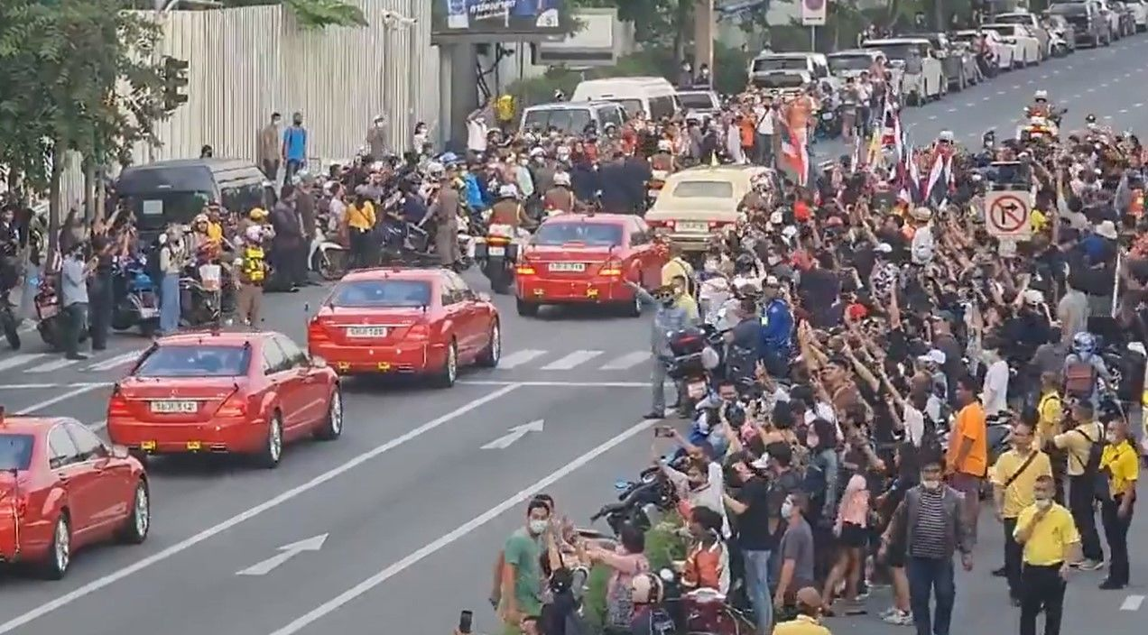 2 activists could face life in prison for alleged violations against a royal motorcade | Thaiger