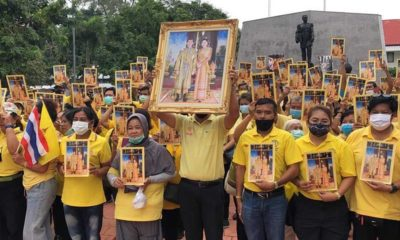 Royalists gather in Chon Buri to support the Thai Monarchy amid anti-government protests | Thaiger