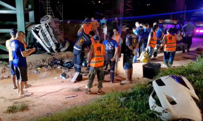 Train-car collision kills 1, second fatal railway crossing incident this week   Thaiger