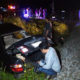 Motorist escapes with minor injuries after train ploughs into car in Chumphon | Thaiger