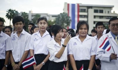 """""""Bad Students"""" protest group urges pupils to ditch their uniforms 