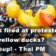 "Thailand News Today | Shots fired, the yellow ducks, ""no coup"" promise 