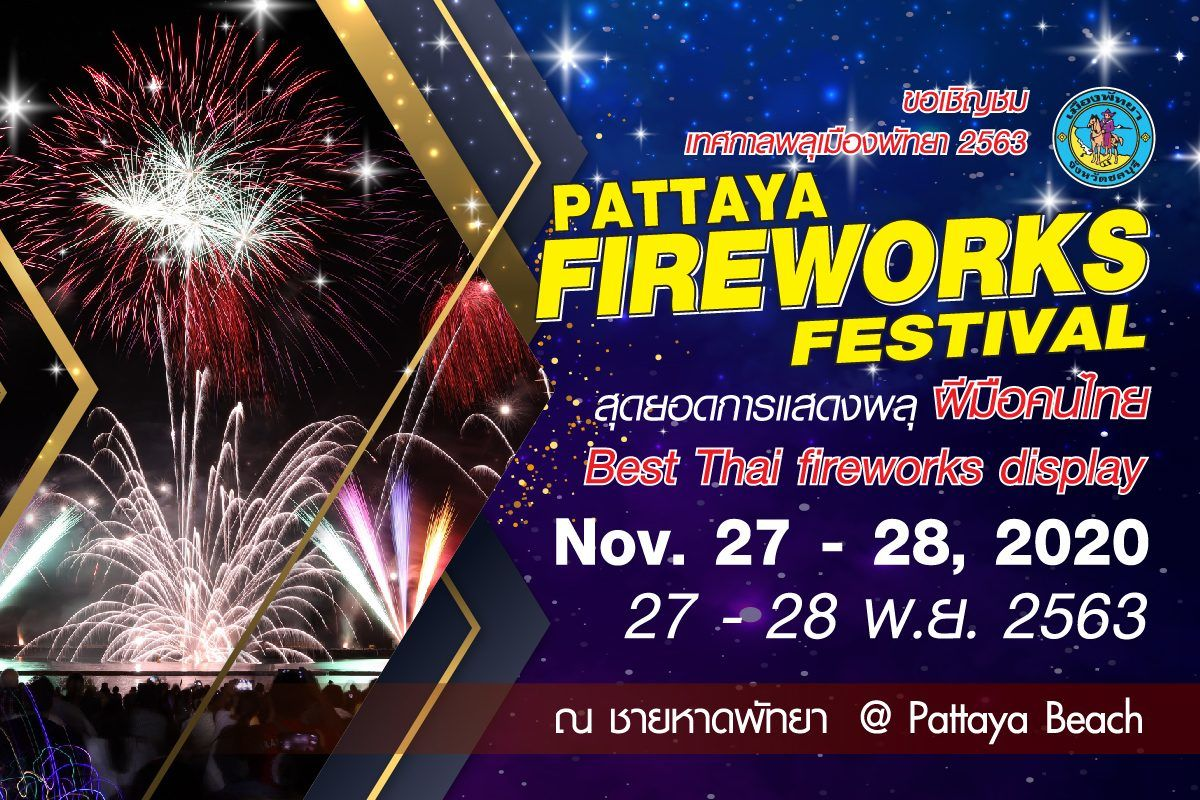 Pattaya Fireworks Festival hoped to boost economy over upcoming weekend   News by Thaiger