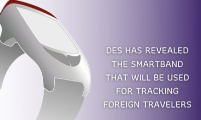 """Travellers to Thailand to wear """"Smartband"""" tracking watch 