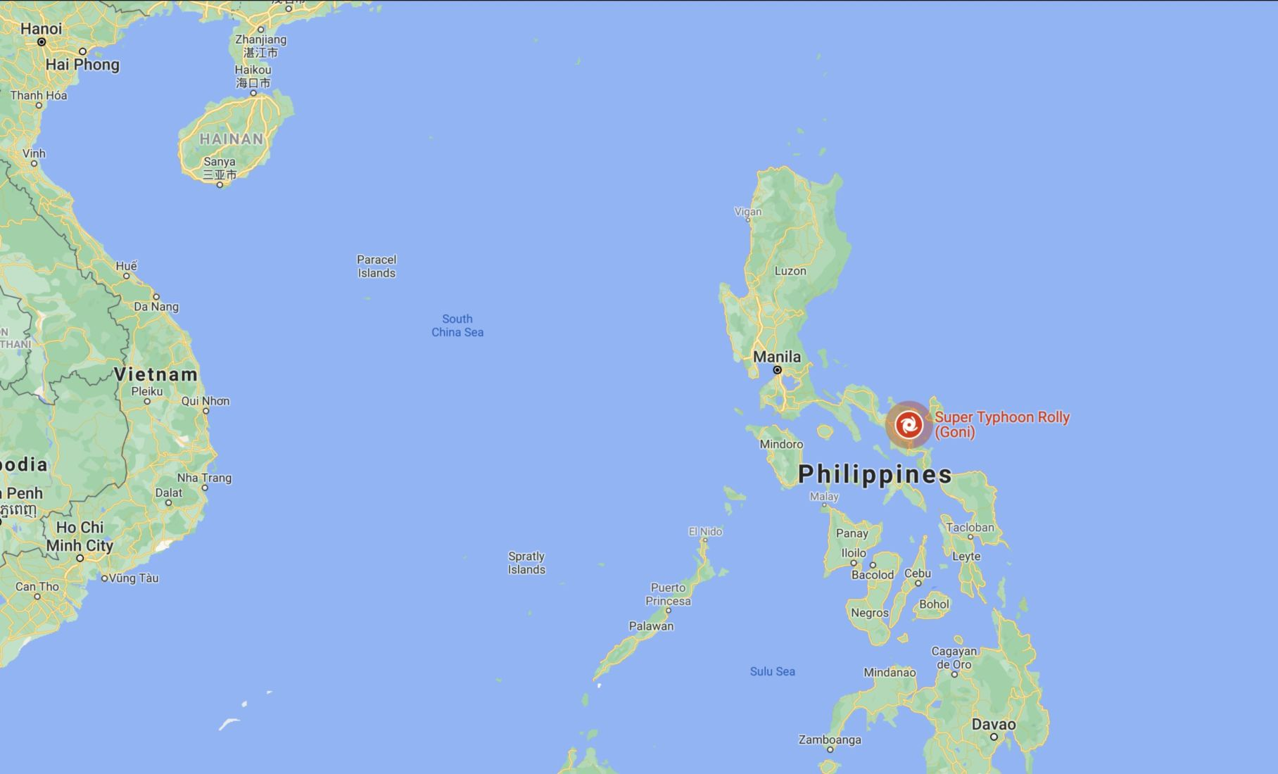 'Goni' slams into Philippines' coast, most powerful typhoon of the year - VIDEO   News by Thaiger