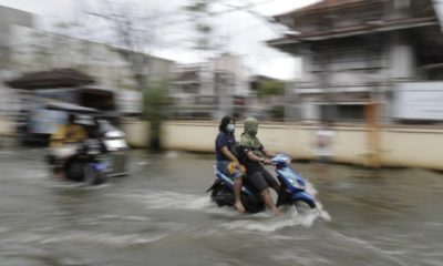 34 Thai provinces affected by heavy rains and flooding, typhoon 'Goni' heads towards Vietnam | The Thaiger