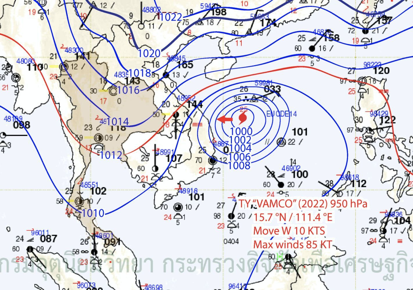 Fair weather for Thailand's north east this weekend despite incorrect warnings | News by Thaiger