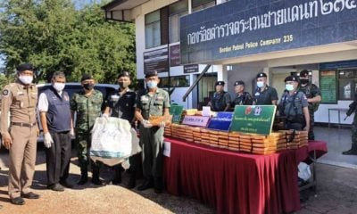 Half a tonne of high grade compressed marijuana seized in NE Thailand | The Thaiger