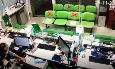 Thief makes off with over 500,000 baht in Bangkok bank robbery | The Thaiger