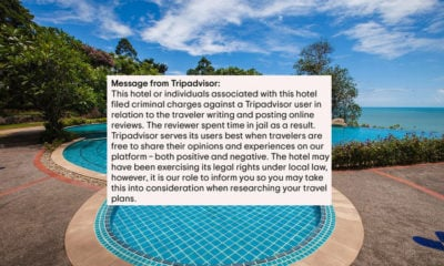 TripAdvisor slaps warning on Thailand's 'Sea View Resort & Spa' review page   The Thaiger