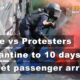 Thailand News Today | Protesters v Police, Quarantine reduction, VietJet passenger arrest | Nov 17 | Thaiger