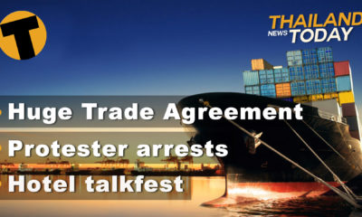 Thailand News Today | The RCEP reset, Hotel Talkfest, Protesters to be arrested | November 16 | Thaiger