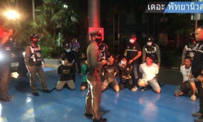 Pattaya police stage fake brawls as part of training drill | Thaiger