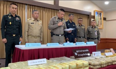 Police seize 45 million baht worth of heroin and methamphetamine from Hat Yai home | The Thaiger