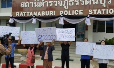 Lottery ticket distributors arrested for allegedly scamming sellers for millions of baht | Thaiger