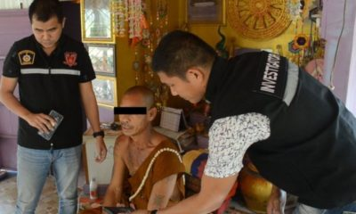 Monk detained after allegedly sending explicit video to 20 children | Thaiger