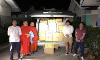 Monk arrested for alleged involvement in large methamphetamine delivery | The Thaiger