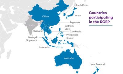15 Asia-Pacific countries form the world's largest trade bloc, the great RCEP reset | The Thaiger