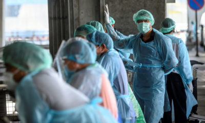 Bangkok officials relay additional info on infected healthcare workers | Thaiger