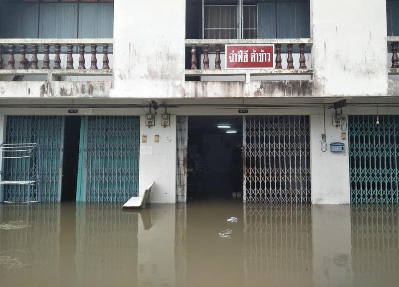 Heavy rain wreaks havoc in flood-ravaged Nakhon Si Thammarat | News by Thaiger