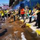 Chiang Rai governor leads clean-up operation amid Covid fears | The Thaiger