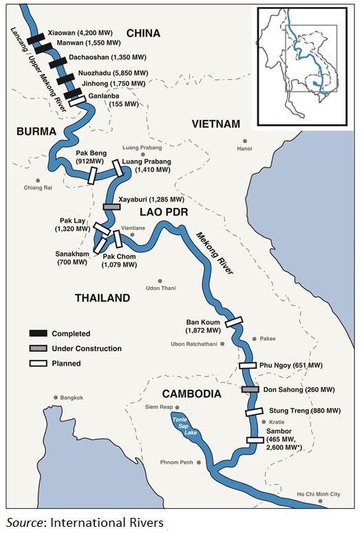 Thai government threaten to boycott new Lao hydro electric dam project | News by The Thaiger